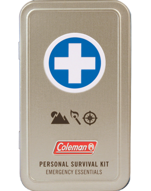 Personal Survival First Aid Tin